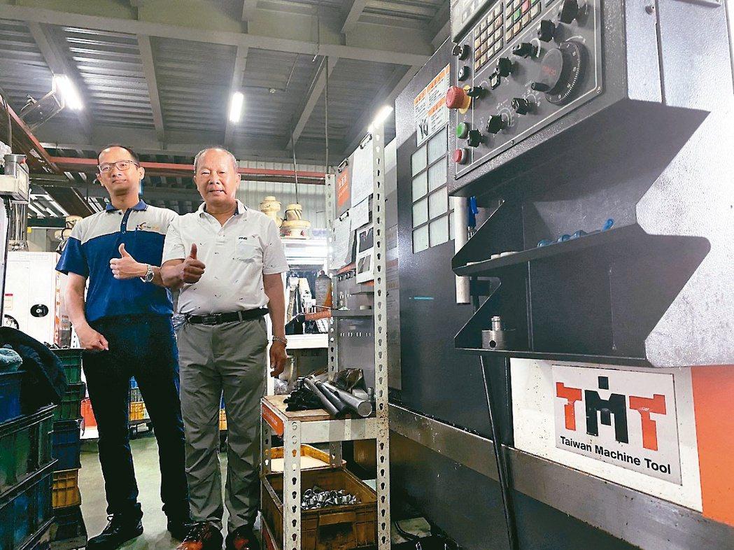 使用正代機械的客戶有高黏著度,宇呈公司廠內已引進逾31部TMT品牌機器,該公司董...