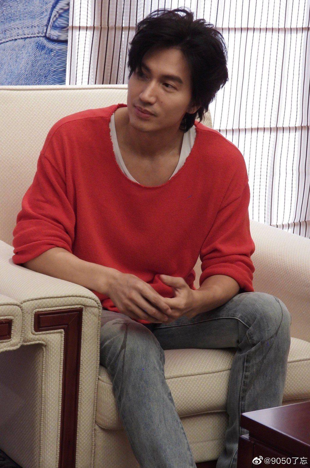 言承旭擔任電影「有一點動心」男主角。圖/摘自微博