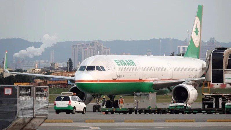 美旅客暴增,長榮航空緊急加開赴美班次。(本報系資料庫)