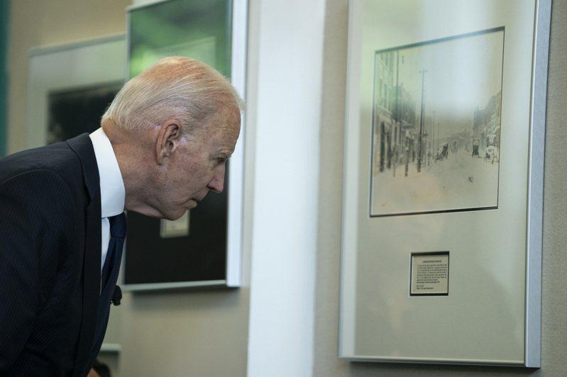 美國總統拜登日前宣布美國要紀念土耳沙大屠殺。(美聯社)