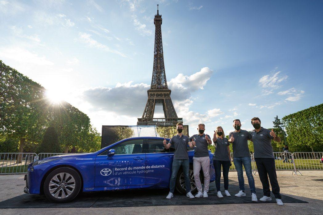 Toyota Mirai以1,003公里成為世界上單趟續航力最強的氫燃料車,而這...