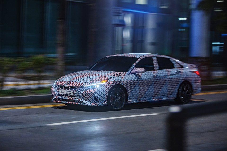 全新Hyundai Elantra/Avante N所搭載的2.0升T-GDi渦...