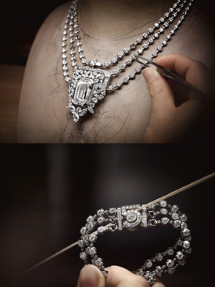 全新N°5 頂級珠寶系列,透過N°5香水特色與不同視角啟發,其中代表作「55.5...
