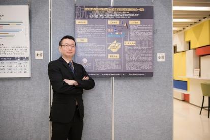 逢甲大學航太系教授張淵仁。  易格斯/提供