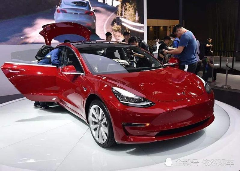 特斯拉中國召回部分進口Model 3電動汽車。搜狐網