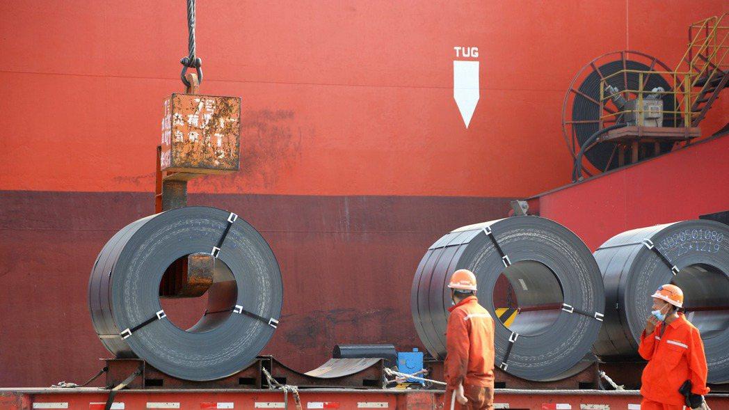 人民幣升值,中國大陸的鋼鐵業可望受惠。 路透
