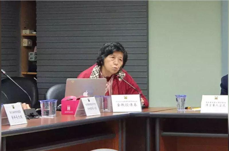 台大公衛學院兼任教授金傳春。記者楊雅棠/攝影