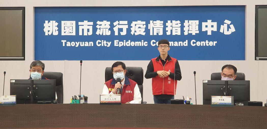 指揮中心日前宣布疫苗擴大施打,桃園市預估單周要打10萬劑,增3大站點可接種。圖/...