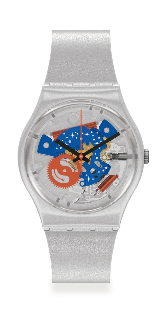 SWATCH太空系列TAKE ME TO THE MOON星際迷航GZ355腕表...