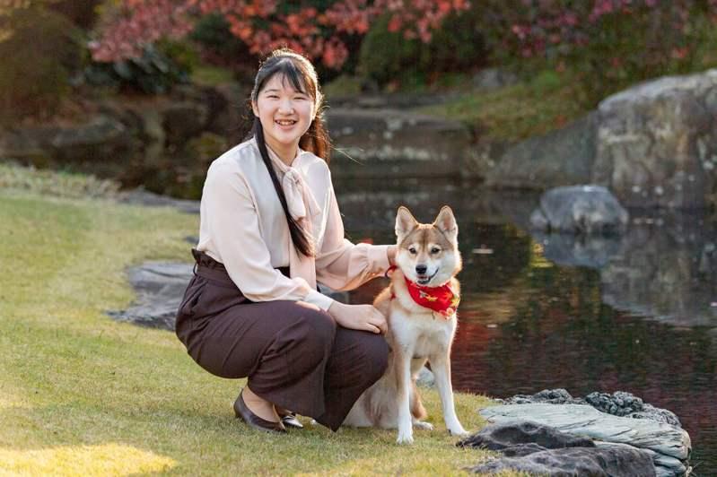 日皇德仁的獨生女愛子也可能成為日本女皇。圖/日本宮內廳提供、法新社