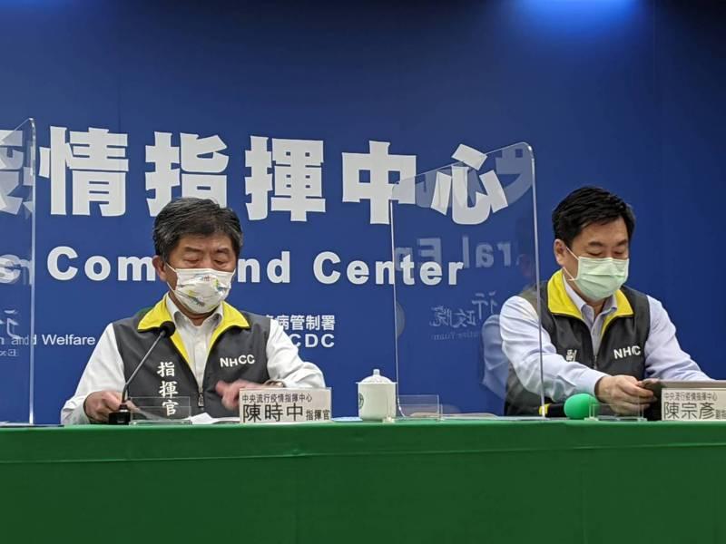 指揮官陳時中分析,疫情似乎來到高峰,甚至連20至39歲者染疫比例增加,籲端午連假勿返鄉。記者謝承恩/攝影