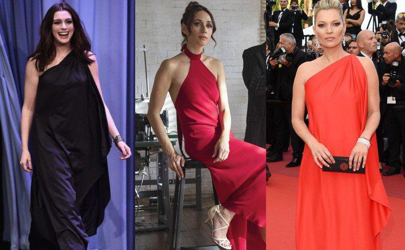 許多女星都曾穿過侯斯頓的禮服。圖/Netflix提供、摘自網路