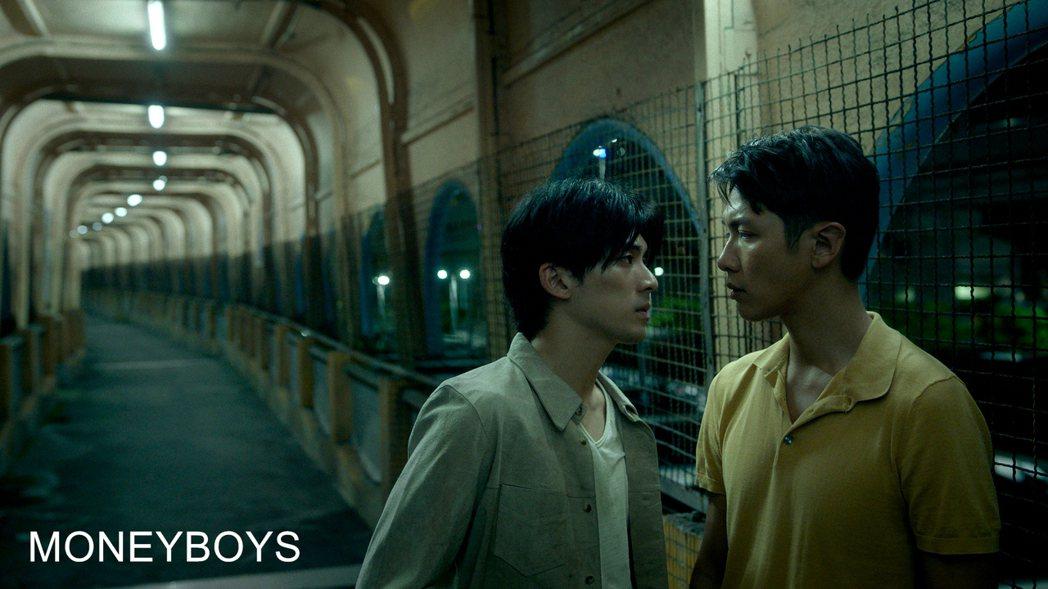 柯震東、林哲熹主演的「MONEYBOYS」入圍「一種注目」競賽單元。圖/前景提供