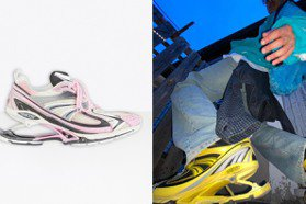 鞋底超酷!Balenciaga最新打造X-Pander高彈運動鞋