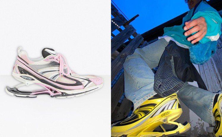 旗下已有多款人氣運動鞋的Balenciaga,最近再度推出全新的X-Pander...