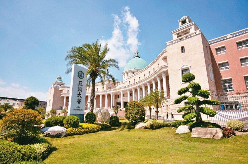 亞洲大學。亞大/提供