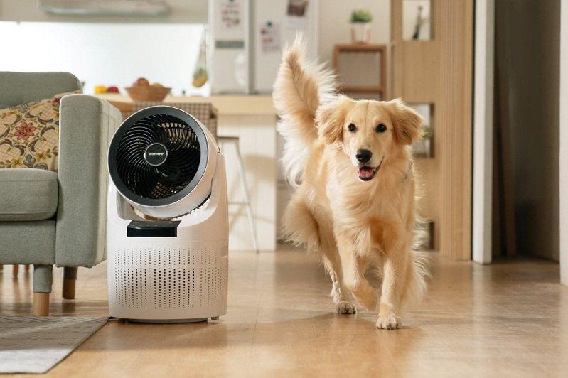 可過濾PM2.5的空氣清淨機,現在幾乎家家都有1至2台。 圖╱品牌提供