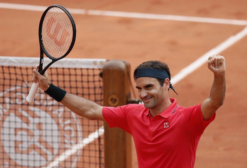 瑞士天王費德勒(Roger Federer)給予在心理健康方面掙扎的球員建言。 路透社