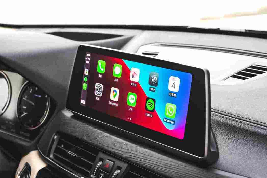 無線Apple CarPlay整合系統滿足您多元且豐富的生活型態。 圖/汎德提供