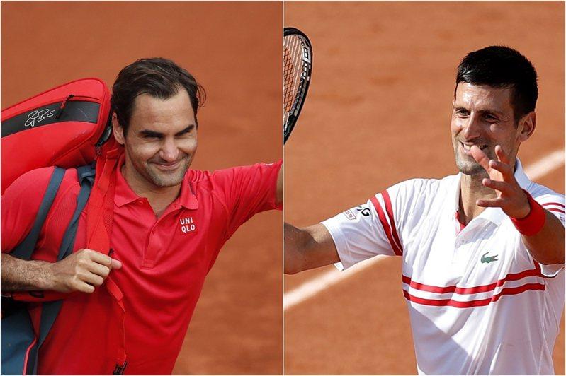 若一切順利的話,約克維奇在8強可望與39歲「瑞士特快車」費德勒(Roger Federer)提前較勁。 路透、美聯社