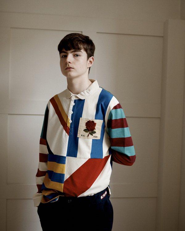 Kent & Curwen向藝術家David Hockney作品致敬的Polo衫...