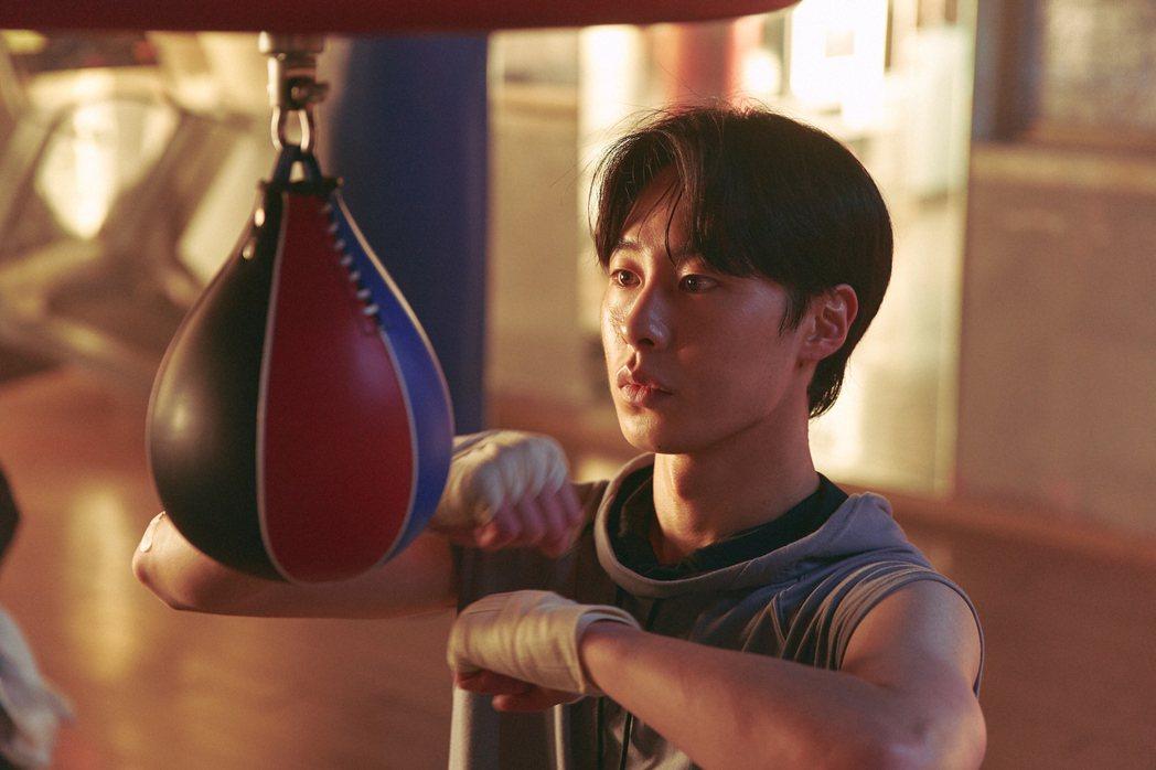 「我是遺物整理師」劇照,李宰旭飾演拳擊選手。圖/Netflix提供