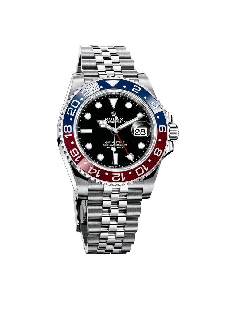 勞力士GMT-MASTER II腕表的藍、紅雙色表圈,在喜好者口中因為與百事可樂...
