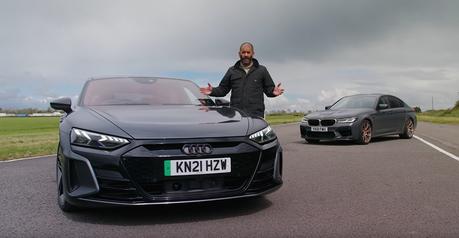 影/超級房車BMW M5 CS贏得了純電Audi RS e-tron GT嗎?