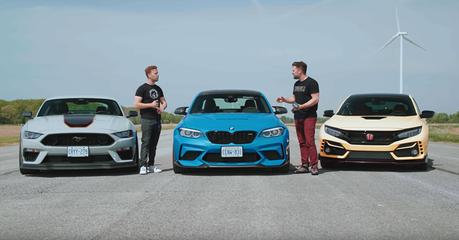影/BMW M2 Vs.Honda Civic Type-R與Ford Mustang!特仕性能車之戰!