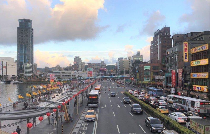 基隆街景。記者游智文/攝影