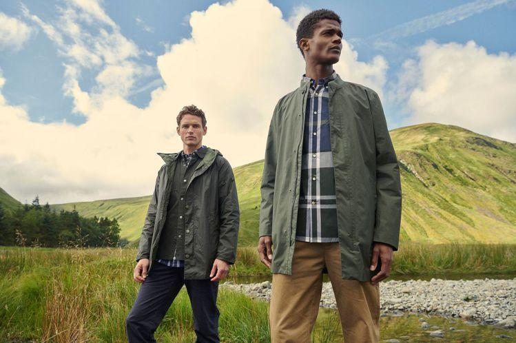 Barbour全新Weather Comfort系列外套,運用科技布料打造,訴求...