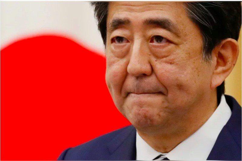 日本前首相安倍晉三。路透