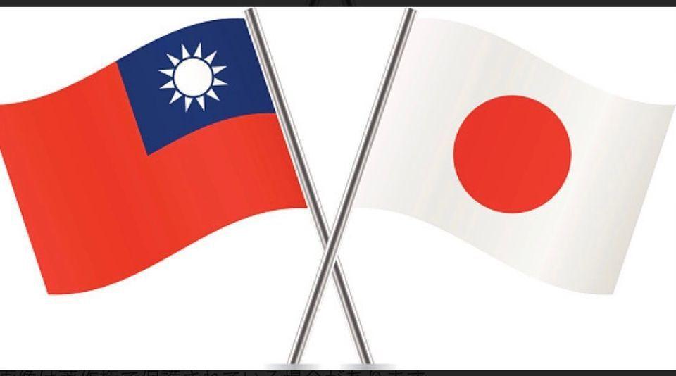 夢多放上國旗象徵台日友好。圖/摘自臉書