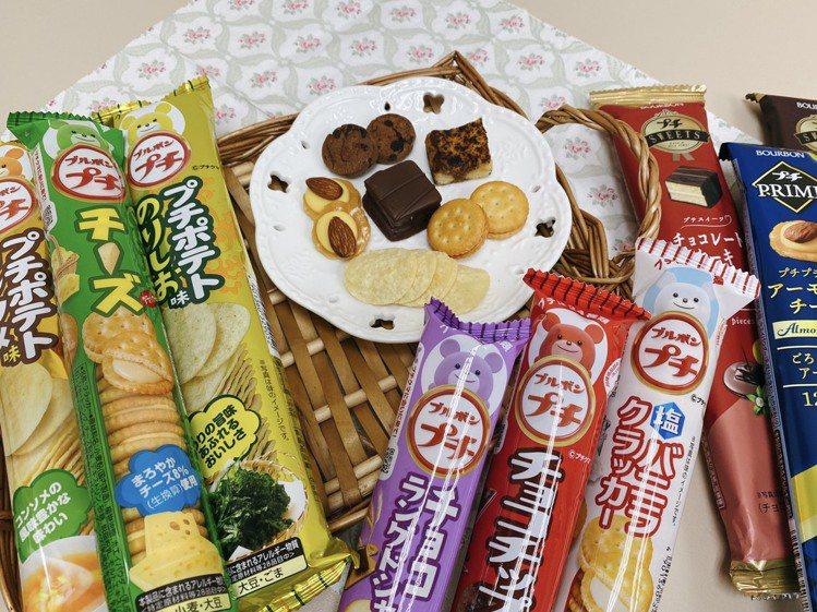 7-ELEVEN「日本祭熊夯」專案架從日本引進9款鹹甜口味的「Bourbon一口...