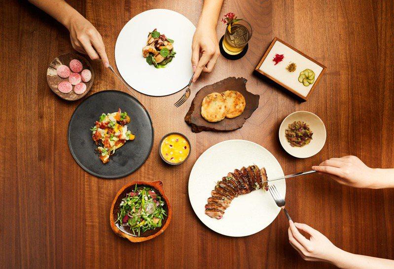 LINE TAXI、Foodie Amber「享饗送」直送明星主廚餐點到你家,圖為MUME外送餐點。圖/Foodie Amber提供