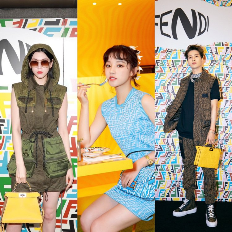 為慶賀FENDI Vertigo系列上市,在上海、東京都舉辦各式活動。圖/取自I...