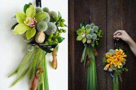 CNFlower以花草佐藺香 用美學與創意翻新端午植物掛飾