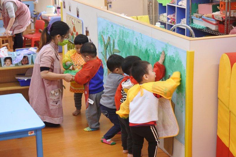 台北市托嬰中心停托兩個月,今公布強制停托損失補償。圖/宜蘭縣府提供