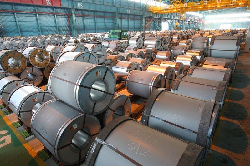 近來傳出部分鋼鐵業惜售、囤貨,中鋼表示將主動清查,以維持市場秩序。圖/中鋼提供
