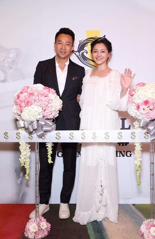 汪小菲(左)、大S。 圖/擷自臉書