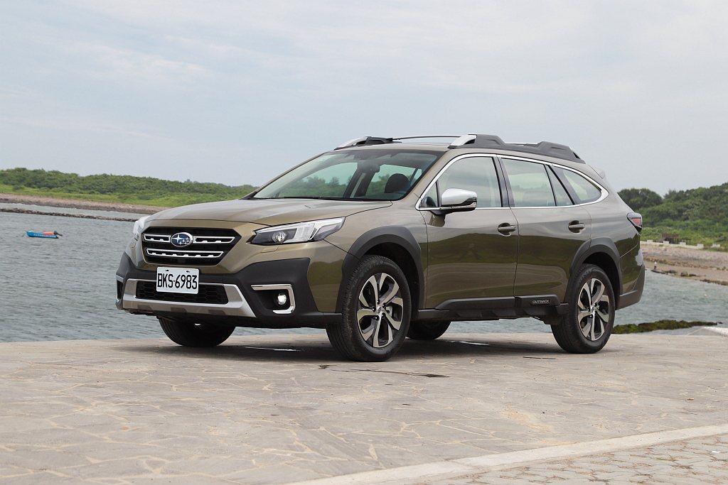 全新Subaru Outback搭載的EyeSight 4.0智能駕駛安全輔助系...
