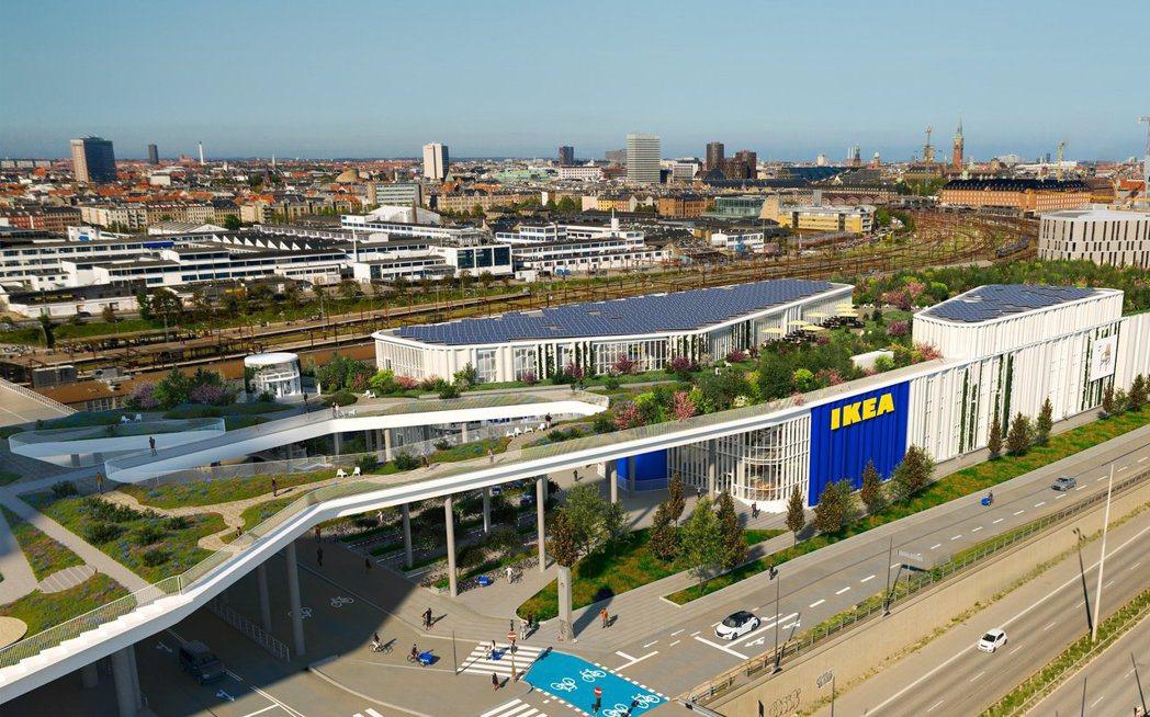 IKEA將與社區結合更緊密。圖/Dorte Mandrup提供