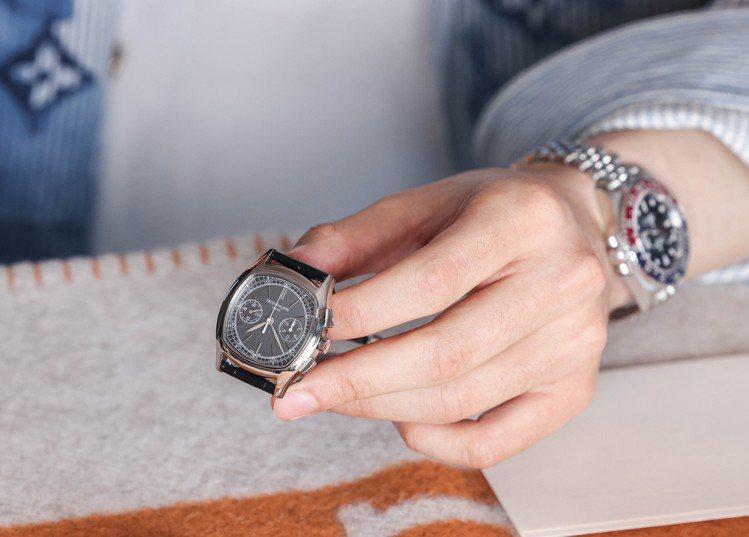 百達翡麗的3670腕表,是表廠與藏家的珍貴情意的見證。攝影/吳致碩