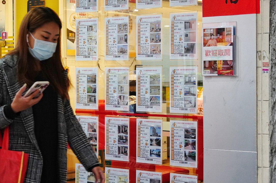 疫情房市情境圖。圖/聯合報系資料照片