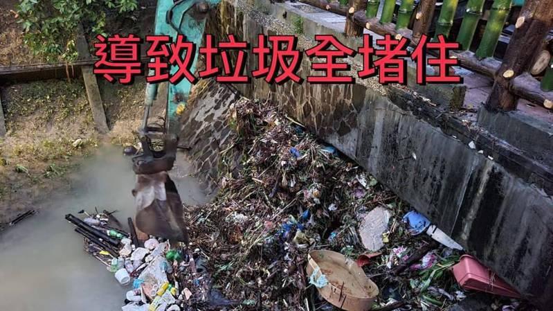 許淑華說,這次台北會淹水,人為因素占很大成分。圖/許淑華提供