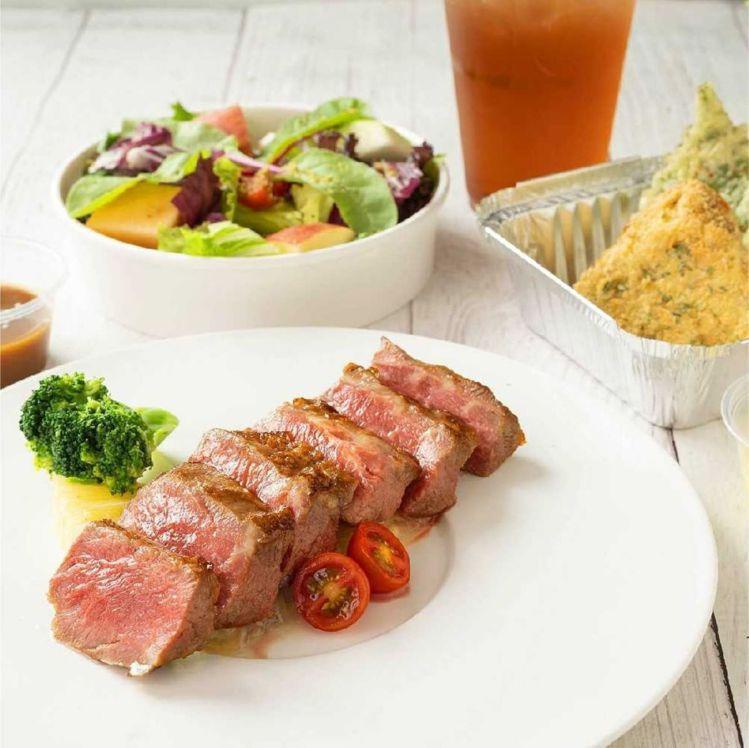 「陶板屋」和風牛排套餐美味豐富。圖/王品集團提供