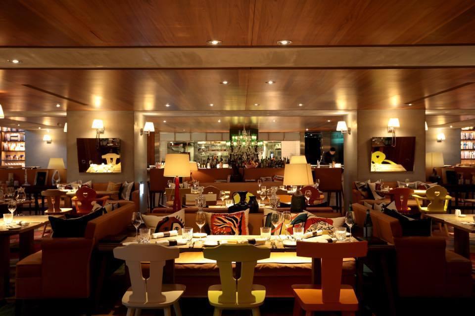 飯店設計風格鮮明,但餐飲卻一直不見起色。圖/摘自飯店粉絲頁