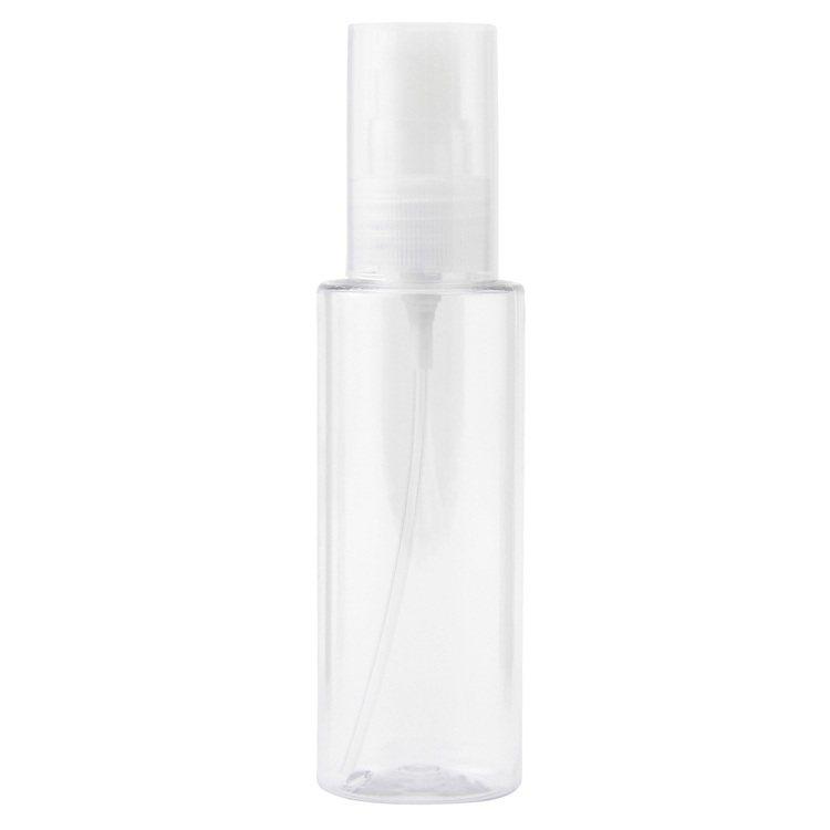 無印良品PET分裝瓶/噴霧型 100ml/110元。圖/MUJI無印良品提供