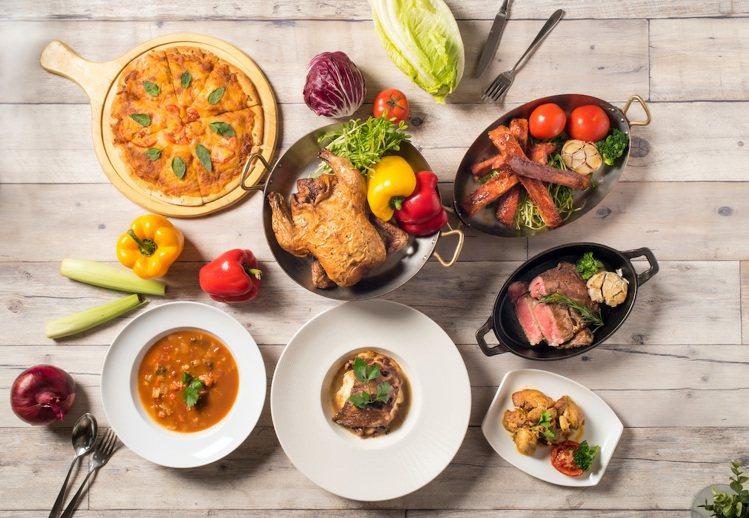 敘日全日餐廳請主廚規劃套餐,點餐零煩惱。圖/六福旅遊集團提供