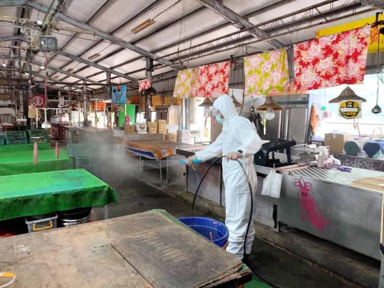 台南市今天新增1名60多歲女性流動攤商確診,為案10875,平常在佳里區第一黃昏...